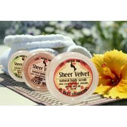 Sheer Velvet- prirodan, kremast piling za telo
