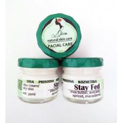 STAY FED, dnevna - Prirodna krema za suvu kožu